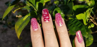 Maniology Snowflake Waltz Collection: Toy Soldier - Dark Plum Stamping Polish Review