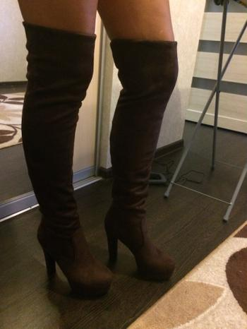 Boots N Bags Heaven Sexy Square Heel Over The Knee Boots Review