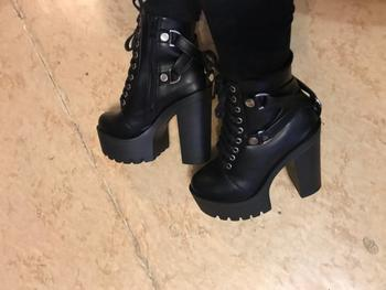 Boots N Bags Heaven Lace Up Soft Leather Ankle Boots Review