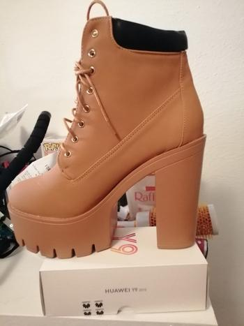 Boots N Bags Heaven Lace Up Platform Ankle Boots Review