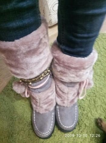 Boots N Bags Heaven Winter Sexy Womens Boots - Cute Snow Furry Plush Boots Review