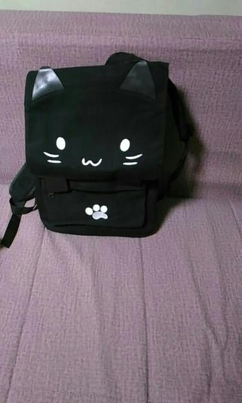 Boots N Bags Heaven Cute Cat Canvas Backpack Review