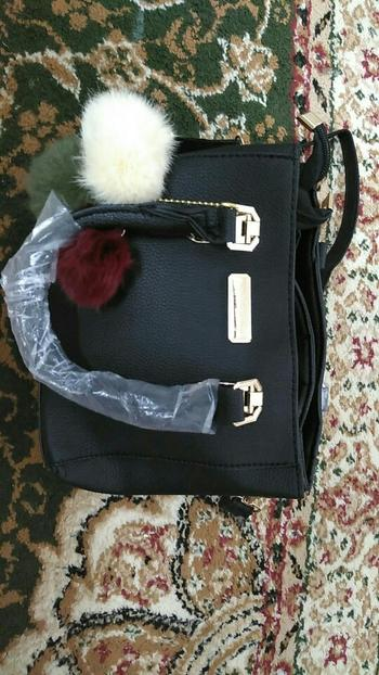 Boots N Bags Heaven Leather Purse With Pompoms Keychain Review