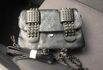 Boots N Bags Heaven Vintage Skulls Rivets Gothic Bag Review