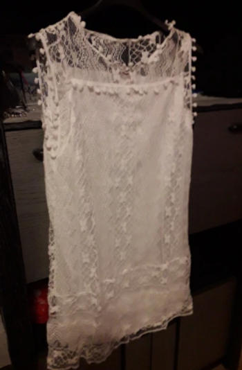 Boots N Bags Heaven Daisy™ - White Short Summer Beach Dress Review