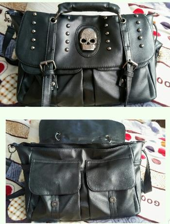 Boots N Bags Heaven Gothic Messenger Skull Bag Review