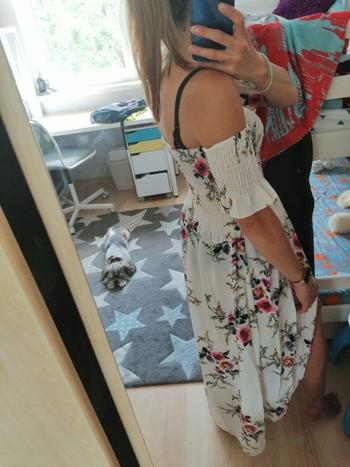 Boots N Bags Heaven Lily™ - Off Shoulder Beach Summer Dress Review