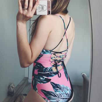 Boots N Bags Heaven Lace-Up Back One Piece Swimsuits Review