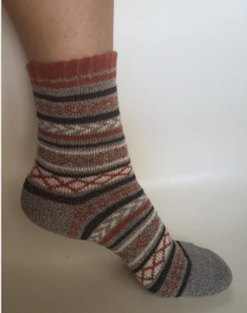 Boots N Bags Heaven Cozy Striped Socks - Fuzzy Winter Wool Socks Set Review