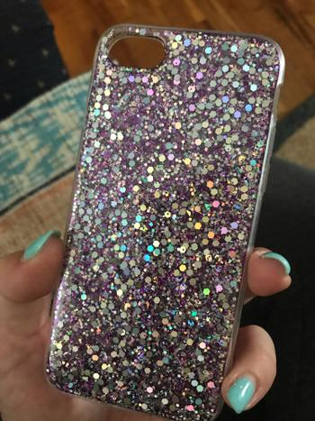 Boots N Bags Heaven Silicon Crystal Sequins Soft Case for iPhone Devices Review