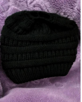 Boots N Bags Heaven Ponytail Beanie Messy Bun Beanie Winter Hat With Hole For Ponytail Review