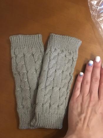Boots N Bags Heaven Knitted Finger-less Warmer Gloves Review