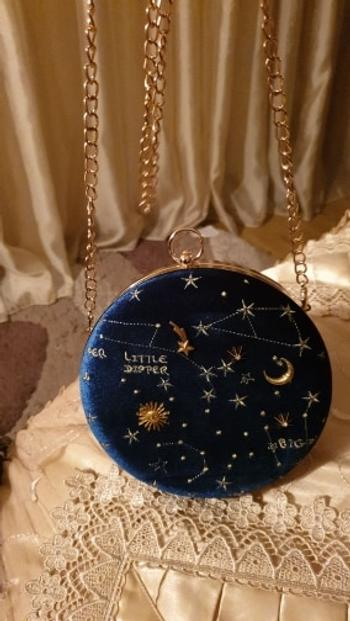Boots N Bags Heaven Starry Sky Constellation Circular Cross body Bag Review