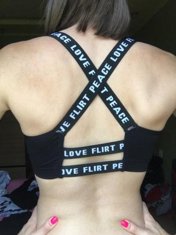 Boots N Bags Heaven Black and White Breathable Fitness Sports Bra Review