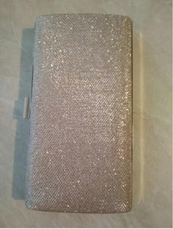 Boots N Bags Heaven Glamorous Diamond Sequin Clutch Bag Review