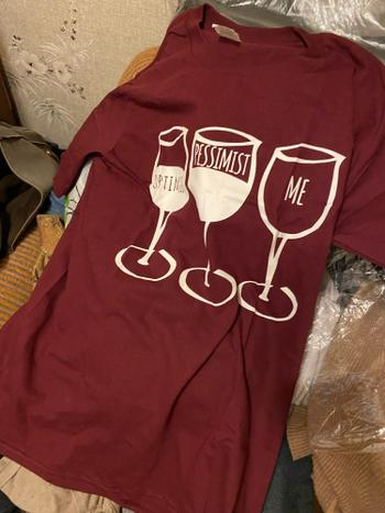 Boots N Bags Heaven Wine Glass Statement Shirt Review