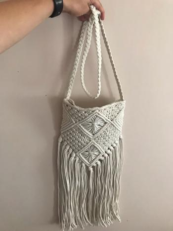 Boots N Bags Heaven Bohemian Crochet Cotton Straw Tassel Bag Review