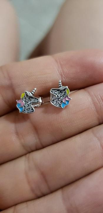 Boots N Bags Heaven Dazzling Sterling Silver Unicorn Earrings Review