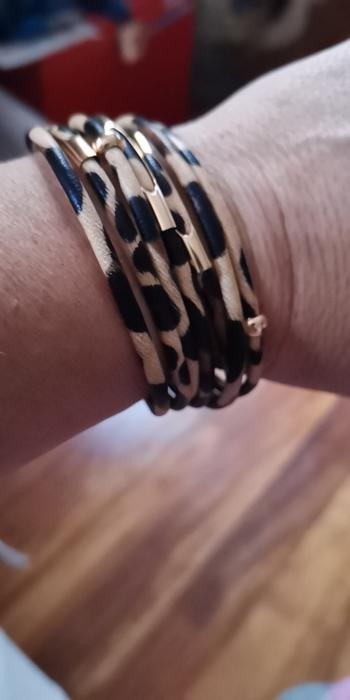 Boots N Bags Heaven Chic Leopard Multi-layer Bracelet Review