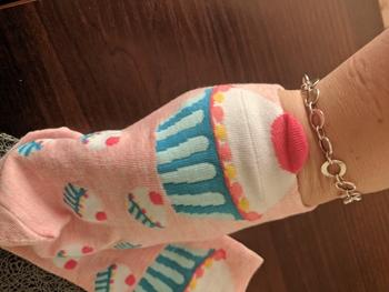 Boots N Bags Heaven Cute and Fun Cupcake Ankle Socks Review