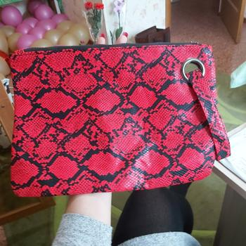 Boots N Bags Heaven Snake Print Soft Clutch Hand Bag Review