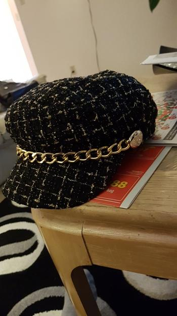 Boots N Bags Heaven Fancy Plaid Winter Beret Review