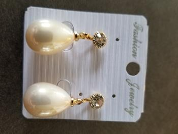 Boots N Bags Heaven Gorgeous Waterdrop Clip-on Earrings Review