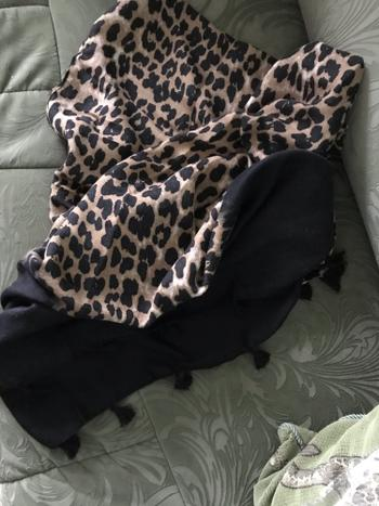 Boots N Bags Heaven Stylish Leopard Print Gradient Scarf Review