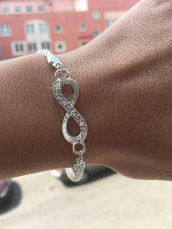 Boots N Bags Heaven Rhinestone Infinity Bracelet Jewelry Review