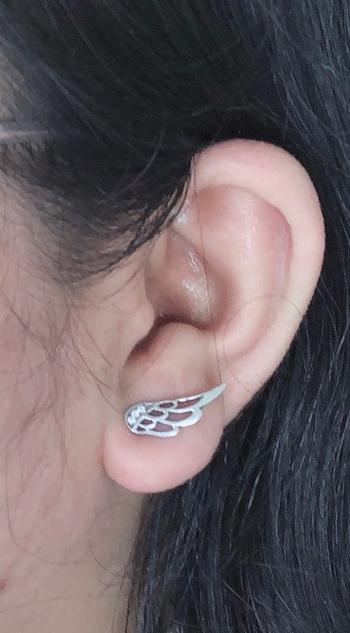 Boots N Bags Heaven Enchanting Silver Feather Fairy Wings Stud Earrings Review