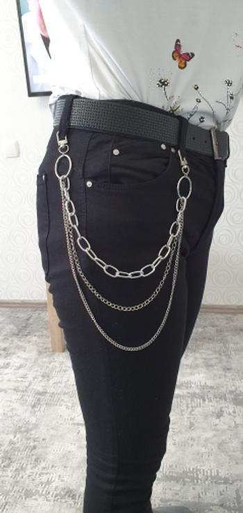 Boots N Bags Heaven Long Metal Layered Belt Chain For Pants and Jeans Review