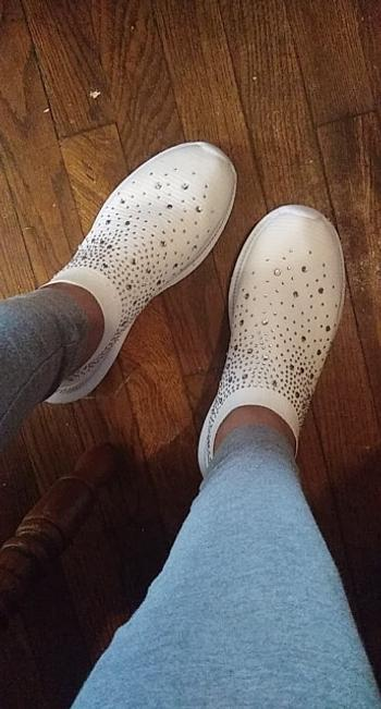 Boots N Bags Heaven Casual Slip On Crystal Sneakers Shoes Review