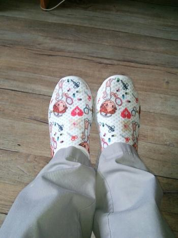 Boots N Bags Heaven Soft and Breathable Slip-On Flat Shoes With Cartoon Nurse Pattern Review