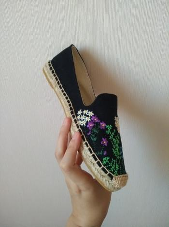 Boots N Bags Heaven Handmade Embroidery Slip-On Espadrilles Flat Shoes Review