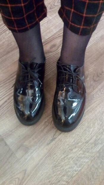 Boots N Bags Heaven Classic Black Leather Oxford Flat Shoes Review