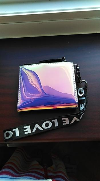Boots N Bags Heaven Holographic Wristlet Wallet with Lanyard Review