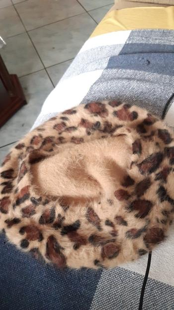 Boots N Bags Heaven Chic Leopard Print Winter Beret Hats Review