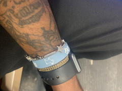 Deuce Brand Be Your Own Goat | Wristband Sky Blue/White Review