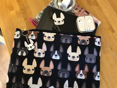 French Bulldog Love Frenchie Friends French Bulldog Pouch - Large Review