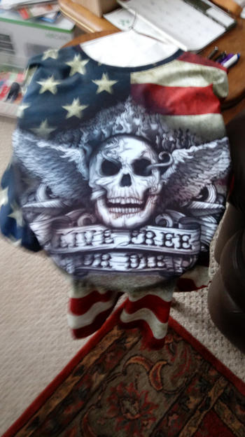Galaxy Teez Live Free Or Die - USA Skull Shirt 2017 Review