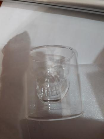 Galaxy Teez Double Layered Transparent Glass Skull Set Review