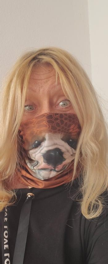 Galaxy Teez Multi-purpose 3D Animal Themed Face Mask Neck Gaiter Review