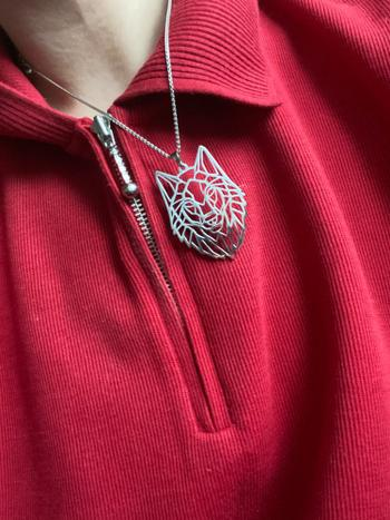 Galaxy Teez Stainless Steel Wolf Pendant Necklace Review