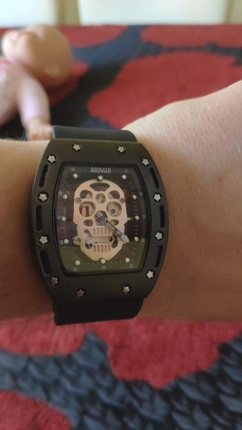 Galaxy Teez Luminous Pirate Skull Dial Quartz Watch Review