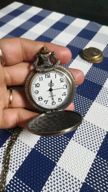 Galaxy Teez Exclusive: Vintage Motorcycle Pocket Watch Review