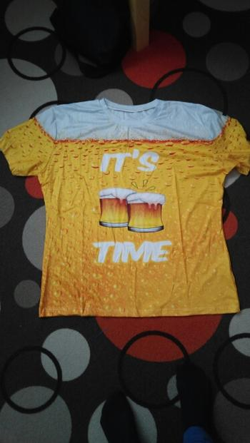 Galaxy Teez It's Beer Time 3D T-Shirt Review