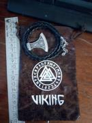 Ancient Treasures Viking  Perun Axe Rune Necklace Review