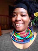 D'IYANU Bisa Women's African Print Layer Necklace (Mixed Tribal Prints) Review