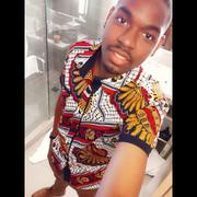 D'IYANU Deion African Print Short Sleeve Button Up (White Gold Multipattern) Review
