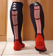 MadSportsStuff Patriot USA Flag Stars and Stripes Over the Calf Socks Review